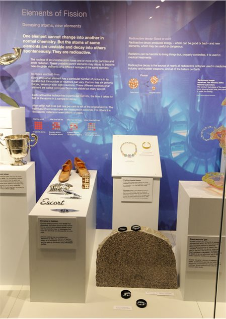 Image: Elements of Fission on display in the Elements exhibition, Ulster Museum