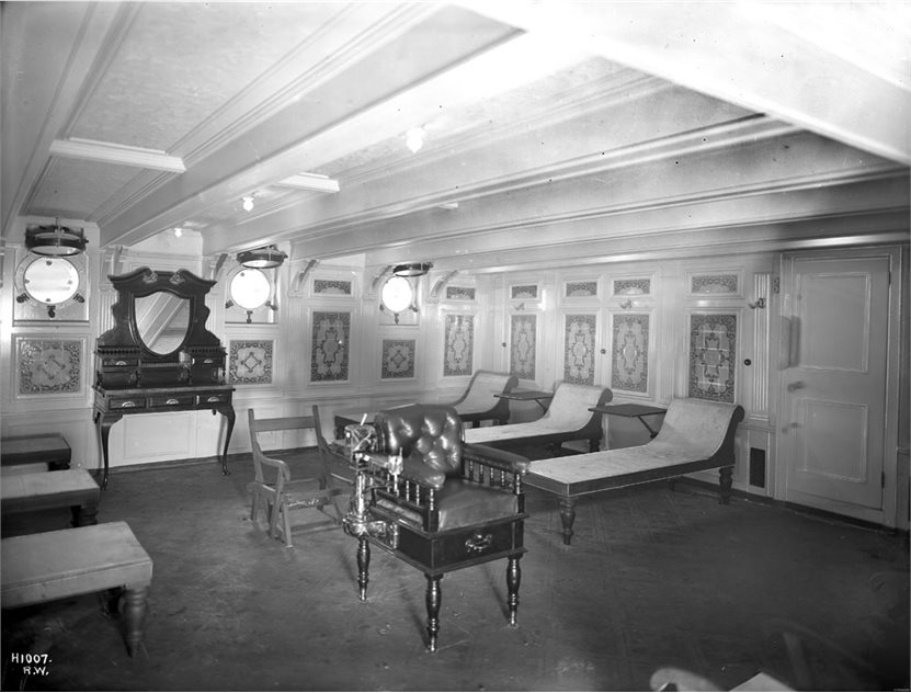 Image: Adriatic - First class Turkish bath and cooling room, Harland and Wolff Collection © National Museums Northern Ireland