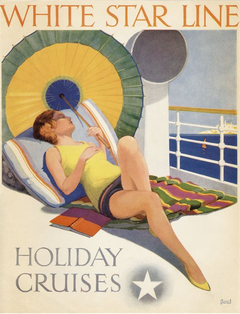 Image: White Star Line 'Holiday Cruises' catalogue, Paul Louden-Brown, White Star Line Collection © National Museums Northern Ireland