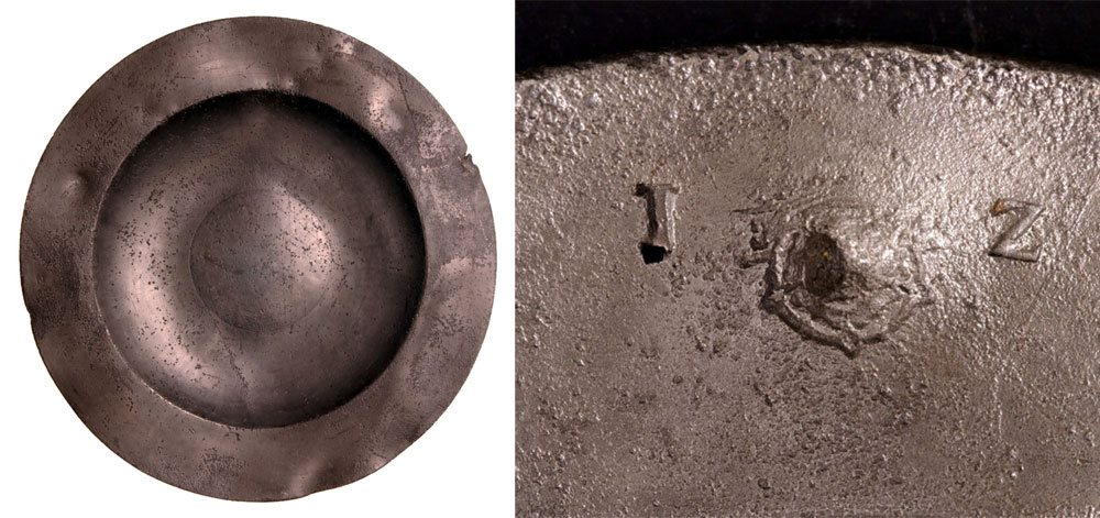 Image: Pewter plate BTV.248