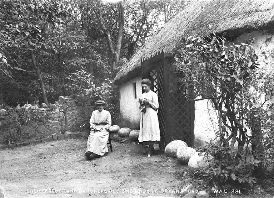Image: The Drennan sisters, Bryansford, Co. Down, around 1910. HOYFM.WAG.281  © National Museums Northern Ireland