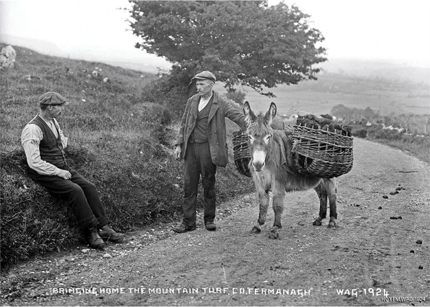 Image: A scene in rural Fermanagh, around 1910. HOYFM.WAG.1924 © National Museums Northern Ireland