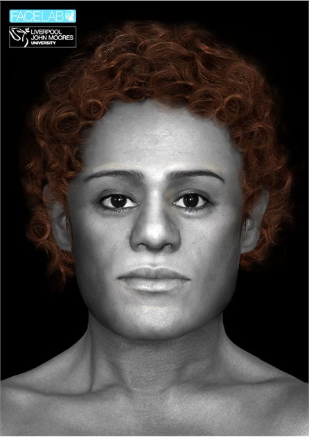 Image: © Facial depiction courtesy of Face Lab at Liverpool John Moores University