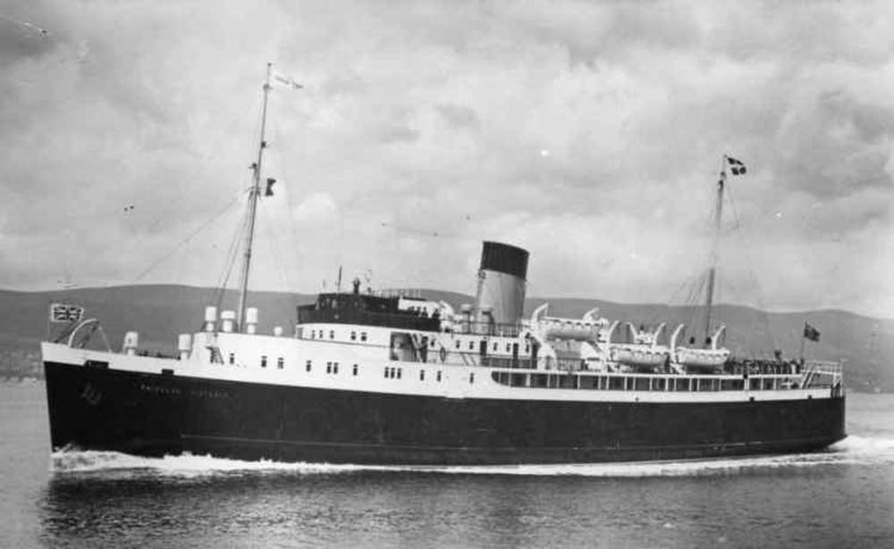 Image: Princess Victoria (Image courtesy of Donaghadee Heritage Preservation Company)