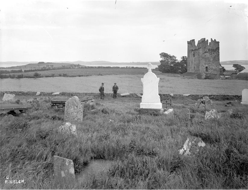 Image: Kilclief from graveyard. BELUM.Y.W.05.90.18 © National Museums Northern Ireland.