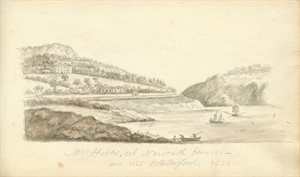 Mrs Hobbs at Newrath House - one mil (sic) Waterford 1824