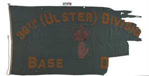 36th Ulster Division Flag
