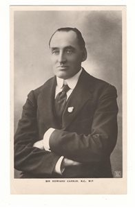 Sir Edward Carson, KC, MP