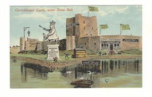 Carrickfergus Castle under Home Rule