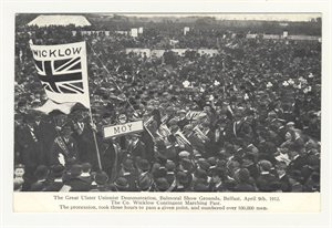 The Great Ulster Unionist Demonstration
