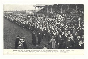 The Great Unionist Demonstration 1912
