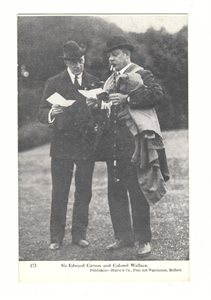 Sir Edward Carson & Colonel Wallace
