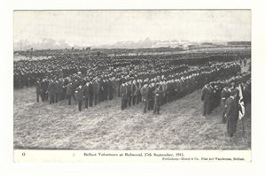 Belfast Volunteers at Balmoral, 27th September, 1913