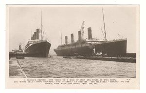"The White Star Liners ""Olympic"" and ""Titanic"""