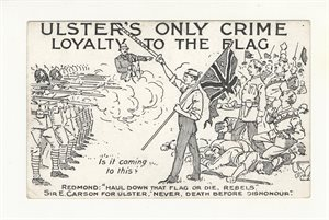 Ulster's Only Crime - Loyalty to the Flag