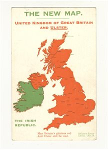The New Map: United Kingdom of Great Britain and Ulster