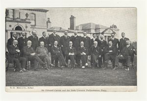 Edward Carson and the Irish Unionist Parliamentary Party