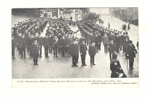 UVF Fortwilliam Section North Belfast Regiment