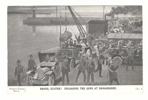 Bravo Ulster! Unloading the Guns at Donaghdee