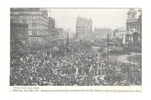 Ulster Day, 28th Sept. 1912