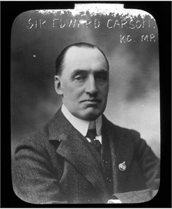 Sir Edward Carson KC MP