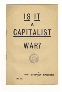 Is it a Capitalist War?