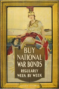 Buy National War Bonds regularly week by week
