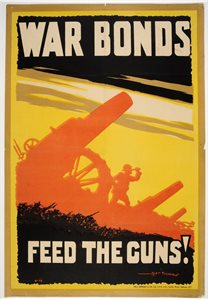 War Bonds. Feed the Guns!