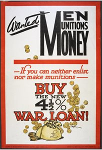 Wanted - Men Munitions Money