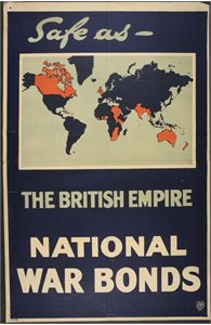 Safe as the British Empire. National War Bonds