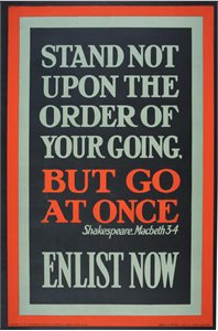 Stand not upon the order of your going but go at once