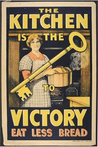 'The kitchen is the key to victory. Eat less bread'