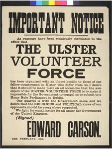 The Ulster Volunteer Force