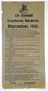 The Downfall of the treacherous Murders in Marrowbone, 1920