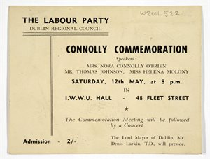 Connolly Commemoration