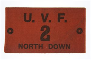 UVF 2 North Down