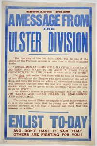 'Extracts from a message from the Ulster Division'