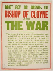 'Bishop of Cloyne and the War'