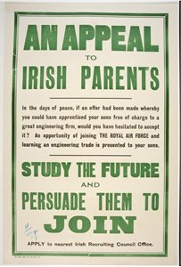 'An appeal to Irish parents'