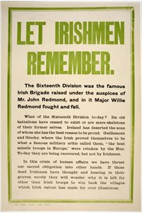'Let Irishmen Remember'