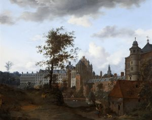 A View of the Palace of the Dukes of Brabant, Brussels (poss. 1660s)