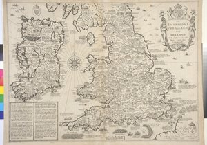 """THE / INVASIONS / OF ENGLAND / AND / IRELAND / WITH AL THEIR CIUILL / WARS SINCE THE / CONQUEST BY I. SPEED"""