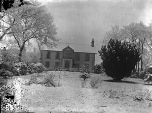 Sentry Hill in snow, January 1909