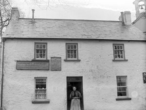 Dispensary, Carnmoney Village 1901, now demolished