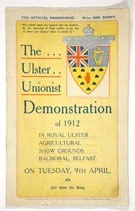 UIster Unionist Demonstration 1912
