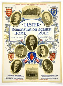 Ulster Demonstration Against Home Rule