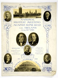 Programme of Anti-Home Rule Demonstration