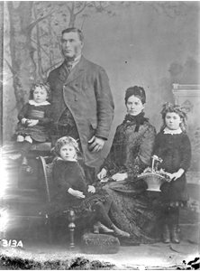 David Alexander 1836-1888? and family; Mrs Alexander Bryson