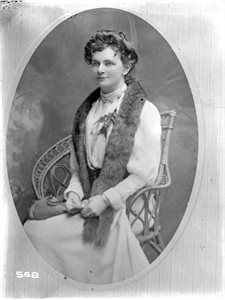Maria McKinney, daughter of John A. McKinney of New Zealand (1877-1961)