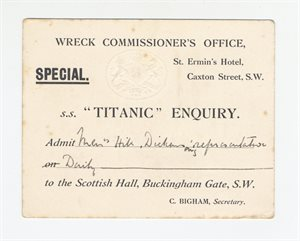 Titanic Enquiry